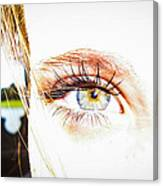 The Human Eye Canvas Print