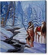 The Hunt Canvas Print