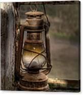 The Hurricane Lamp Canvas Print