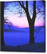 The Hush At First Light Canvas Print
