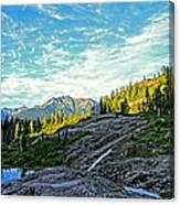 The Hut. Canvas Print
