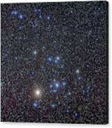 The Hyades Cluster With Aldebaran Canvas Print