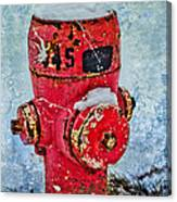The Hydrant Canvas Print