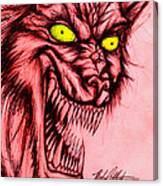 The Hyena Canvas Print