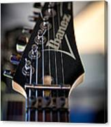 The Ibanez Guitar Canvas Print