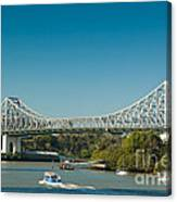 The Icon Of Brisbane - Story Bridge Canvas Print