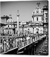 The Imperial Fora Canvas Print