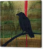 The Impossibility Of Crows Canvas Print