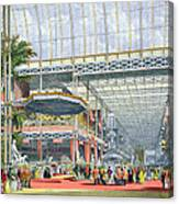 The Inauguration, From Dickinsons Canvas Print