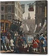 The Industrious Prentice Lord Mayor Canvas Print