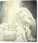 The Infant Jesus Saying His Prayers Canvas Print