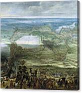 The Infanta Isabella Clara Eugenia At The Siege Of Breda Of 1624 Canvas Print