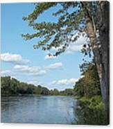 The Intervale On The Piscataquis Canvas Print