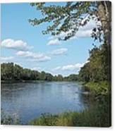 The Intervale On The Piscataquis River Canvas Print