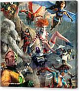 The Invincibles Canvas Print
