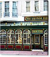 The Irish Pub - Philadelphia Canvas Print
