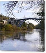 The Iron Bridge 2 Canvas Print