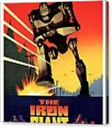 The Iron Giant 1999 Canvas Print