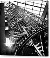 The Iron Hell Stairs Canvas Print