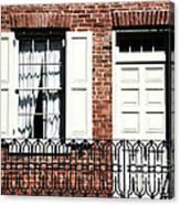 The Iron Railing Canvas Print