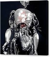 The Iron Robot Canvas Print