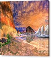 The Island Of Hope  Canvas Print
