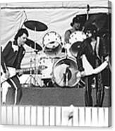The J. Geils Band Rock Out In Oakland In 1976 Canvas Print