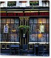 The Jack The Ripper Pub Canvas Print