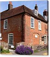 The Jane Austen Home Chawton England Canvas Print