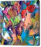 Jazz Abstract Painting Canvas Print
