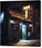 The Jazz Estate Nightclub Canvas Print