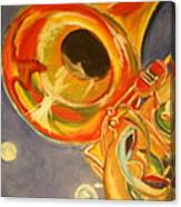 The Jazz Horn Canvas Print