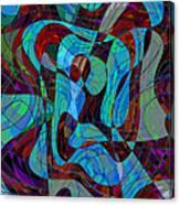 The Jazz Musician Canvas Print