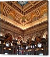 The Jefferson Building Library Of Congress Canvas Print
