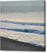 The Jersey Surf Canvas Print