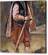 The Jester Named Don John Of Austria Canvas Print