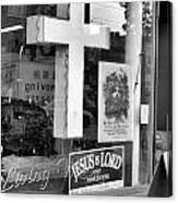 The Jesus Store Canvas Print