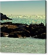 The Jetties Canvas Print