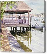 The Jetty Cochin Canvas Print