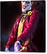 The Joker Dummy Canvas Print