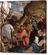The Journey To Calvary, C.1540 Canvas Print