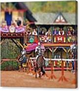 The Jousters Canvas Print