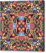 The Joy Of Design Mandala Series Puzzle 2 Arrangement 1 Canvas Print