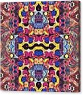 The Joy Of Design Mandala Series Puzzle 3 Arrangement 4 Canvas Print