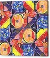 The Joy Of Design Vll Arrangement Joyful Entanglements Canvas Print