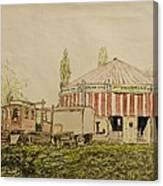The Joy Wheel, Mitcham Canvas Print