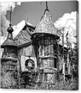 The Junk Castle Iv Canvas Print