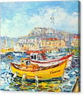 The Kalk Bay Harbour Canvas Print