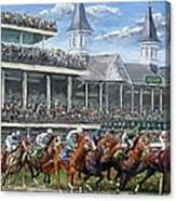 The Kentucky Derby - Churchill Downs Canvas Print