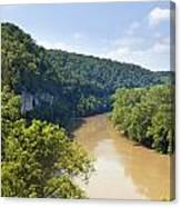 The Kentucky River Canvas Print